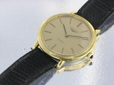 Reloj Automático Longines Chapado en Oro Y Acero Inoxidable Reloj