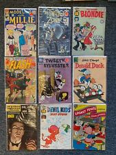 New ListingGolden Age / Silver Age 10 cent lot (9) comics low, mid & high grade