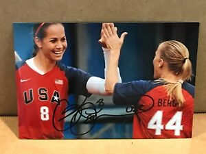 CAT OSTERMAN Authentic Hand Signed Autograph 4x6 Photo - SOFTBALL GOLD MEDALIST