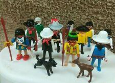 Vintage Playmobil People & Animal Figures Job Lot/ Bundle (1974) Geobra