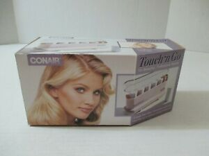 NEW VINTAGE CONAIR 5 TRAVEL ROLLERS *TOUCH N GO* MODEL TS5B DATED 1993 OPEN BOX