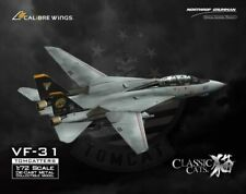 Calibre Wings F-14D Tomcat VF-31 Tomcatters Buno 164342 1:72 Scale Diecast Model