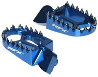 RFX PRO SERIES FOOT PEGS FOOTRESTS BLUE SHERCO SE-F 250 SE-F 300 2009 - 2018