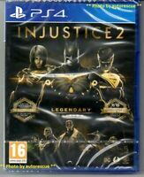 Injustice 2 LEGENDARY Edition 'New & Sealed'  *PS4(Four)*
