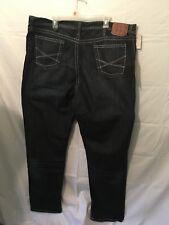 Stetson Mens Jeans Big and Tall1520 Straight Leg Dark Wash Denim W44 L34