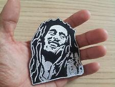 Rasta Reggae patch Bob Marley embroidered iron on patches Sew appliques