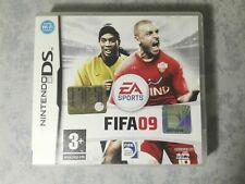 FIFA 09 2009 - NINTENDO NDS DS DSi 3DS 2DS PAL ITA ITALIANO COMPLETO COME NUOVO