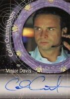 Stargate SG-1 Season Four Colin Cunningham as Major Davis Autograph Card A17