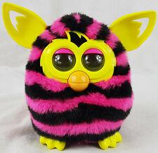 Furby Electronic Pet Toy, Purple & Black Stripes, Hasbro 2012.