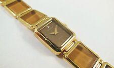 Lassale by Seiko Gold Tone Base Metal 1E50-0100 Sample Watch NON-WORKING