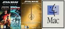 Star Wars knights of the old republic&empire at war & Jedi Knight Gold Pack MAC