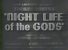 NIGHT LIFE OF THE GODS 1935 (DVD) ALAN MOWBRAY