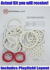 1976 Williams Aztec Pinball Machine Rubber Ring Kit