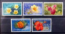 NETHERLANDS ANTILLES 1955 Flowers Complete SG345-9 U/M NC895