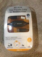 Belkin Easy Data Transfer Cable for Windows 8/Windows Vista (P47660-B) 8 FT