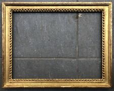 Ancien Cadre Bois Sculpté Doré Louis XVI Baguette Peinture 30 x 40 cm XIXème