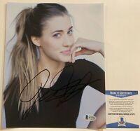 Sexy Model Actress Jessica Serfaty Autographed 8x10 Photo Signed Beckett COA