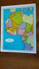 1961 Map of Northwestern Africa - Nice Details - Nice Colors