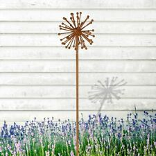 Gartenstecker aus metall mit blumen motiv g nstig kaufen for Gartenstecker metall rostoptik