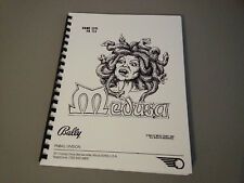 Medusa Pinball Manual with Full-Size, Fold-Out Schematics