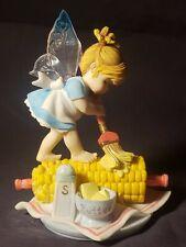 2005 My Little Kitchen Fairies Corn-On-The-Cob Fairie Enesco Figurine #4004989