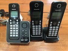 Panasonic KX-TGC360 DECT 6.0 Cordless 3 Phone System