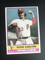 1976 Topps Steve Carlton Philadelphia Phillies #355 Baseball Card