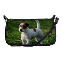 JACK RUSSELL TERRIER DOG PUP SHOULDER CLUTCH BAG HANDBAG 121128491
