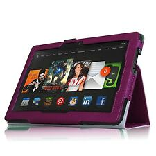 "High Quaity Amazon Kindle Fire HDX 8.9"" 2013 & 2014 PU Leather Smart Stand Case"