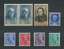 FRANCE - 1942 YT 546 à 552 - TIMBRES NEUFS** MNH LUXE
