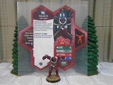 Heroscape Custom Parasite Double Sided Card & Figure w/ Sleeve DC