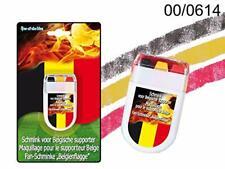 Stickers Maquillage pour Fan Crayons Drapeau Belgique 6 cm Supporteur Football