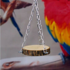 Suspension Bridge Hammock Swing Wooden Activity Toy Parrot Hamster Gerbil