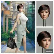En Stock 1/6 Escala Super Pato Cabeza Hembra SDH013 H #Suntan para Hot Toys Cuerpo
