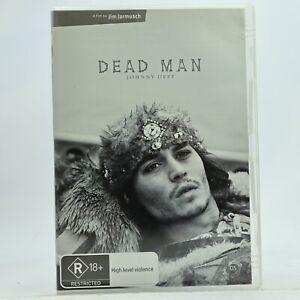 Dead Man Johnny Depp Western Art Film DVD Good Condition Free Tracked Post