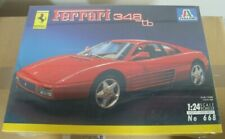 Italeri Kit 1:24 - Ferrari 348 TB   - Plastic Model
