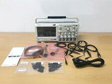 Tektronix MSO2014B 100MHz 4Ch Oscilloscope with P6316 logic probe & 4 x TPP0200