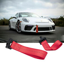 Red Racing Tow Strap Hook For Porsche 911 Carrea 991 991.2 2013-2018
