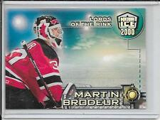 99-00 Dynagon Ice Martin Brodeur Lords Of The Rink # 8