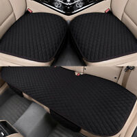 3X Auto Car Seat Covers Protect Cushion Chair Mat Pad Full Set Front Rear AU
