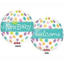 "New Burton & Burton 16"" Orbz New Baby Xl Balloon Shower Party Decoration"