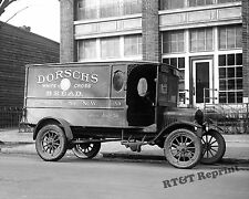 Photograph of a Ford Dorsch's  Bread Delivery Truck Year 1923  8x10