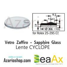 Vetro Zaffiro Rolex Cyclope 25.295C2 con lente guarnizione inclusa - Swiss Made