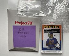 Topps Project70Card 80 1975 Mike Piazza by Jeff Staple PR /2273 (In hand) w/box
