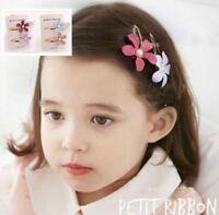 Kids Baby Girl Mini  Flower Hairpins Cute Hair Clips Princess Hair Accessories