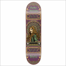 "Richie Jackson Art Nouveau deck - Death Skateboards 7.75 "" grip & free shipping"