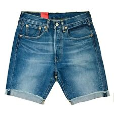 Levi's 501 CT Blue Denim Shorts Size W28