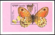 Cambogia 1993 Farfalle/Insetti/NATURA/Farfalla/stampex 1 V M/S (b8089)