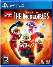 DISNEY PIXAR LEGO INCREDIBLES PS4 NEW! FUN FAMILY GAME PARTY NIGHT!