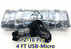 4FT OEM MICRO USB FAST CHARGING CABLE CORD SYNC FOR V9 ANDROID  PHONE